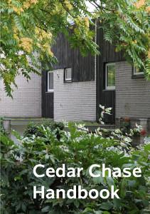 Cedar Chase handbook - front cover