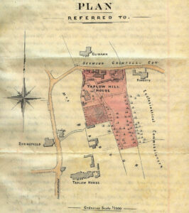 1914 Taplow Hill plan